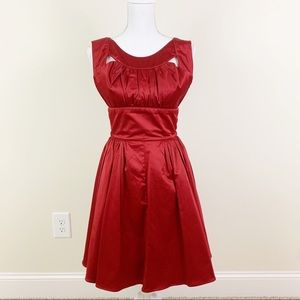 TRASHY DIVA Satin Orlando Dress Size 6